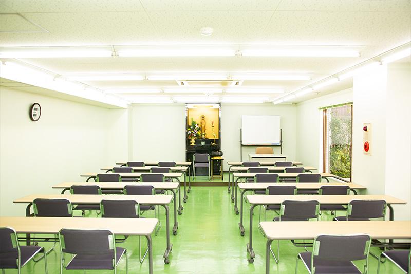 京都学院 教室内
