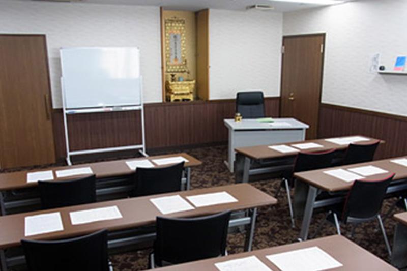 東京学院 教室内